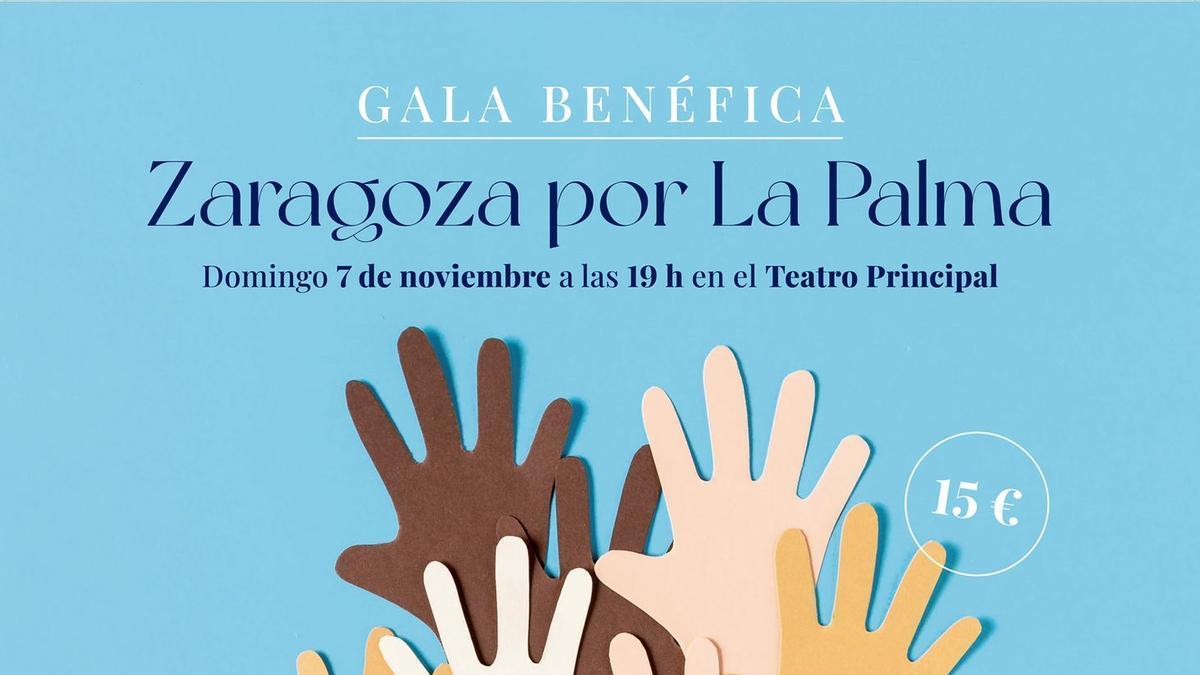 Cartel de la gala benéfica el próximo 7 de noviembre.