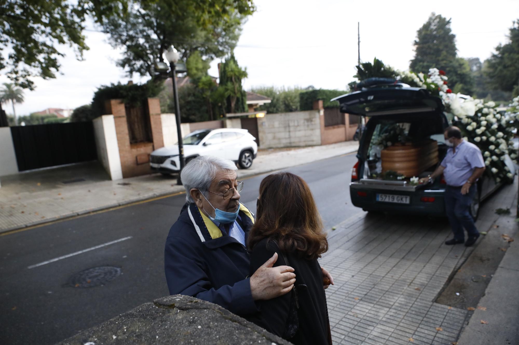 Funeral en Somió por el constructor García Parúas