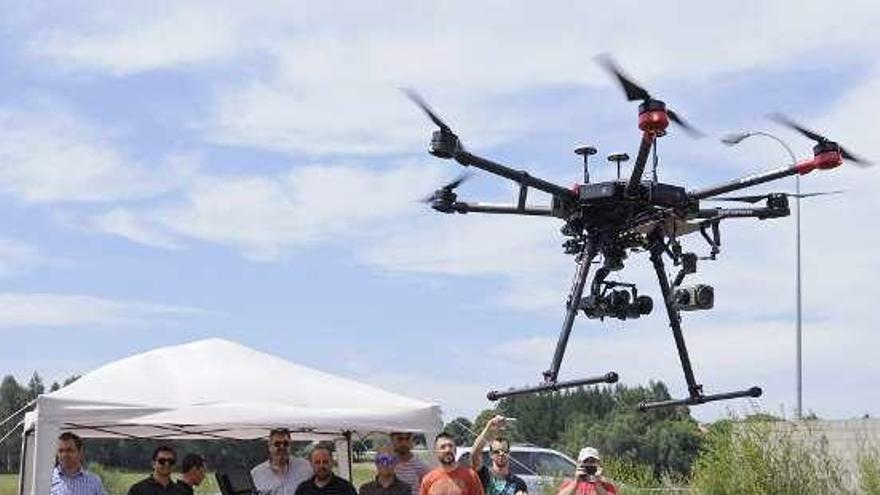 Lalín acoge un seminario de inspección técnica con drones