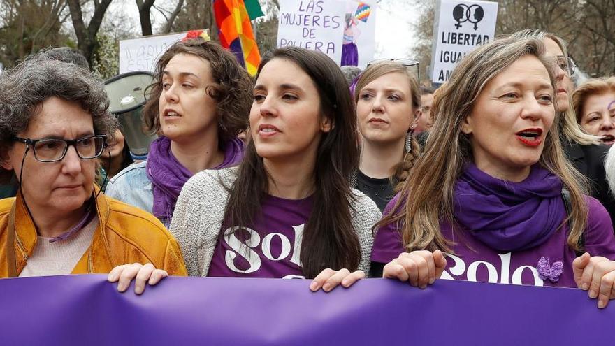 """El año clave de Irene Montero: del """"sólo sí es sí"""" a la ley trans"""