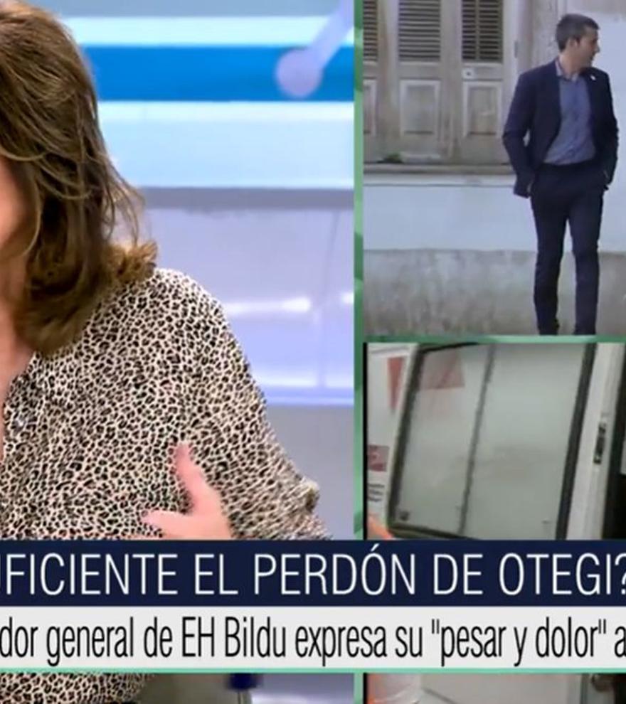 """Ana Rosa, tras las palabras de Otegi a las víctimas de ETA: """"No hay mucho que celebrar"""""""