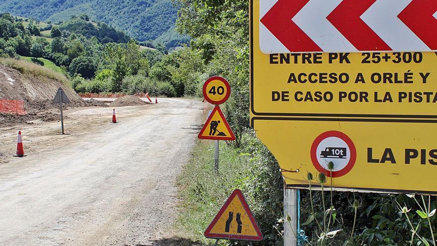 Iniciado el trámite ambiental para extender las obras en la carretera Caso-Infiesto