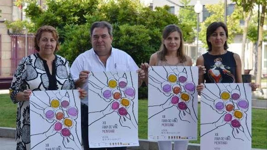 La Feira do Viño de Monterrei ofrecerá caldos de 16 bodegas