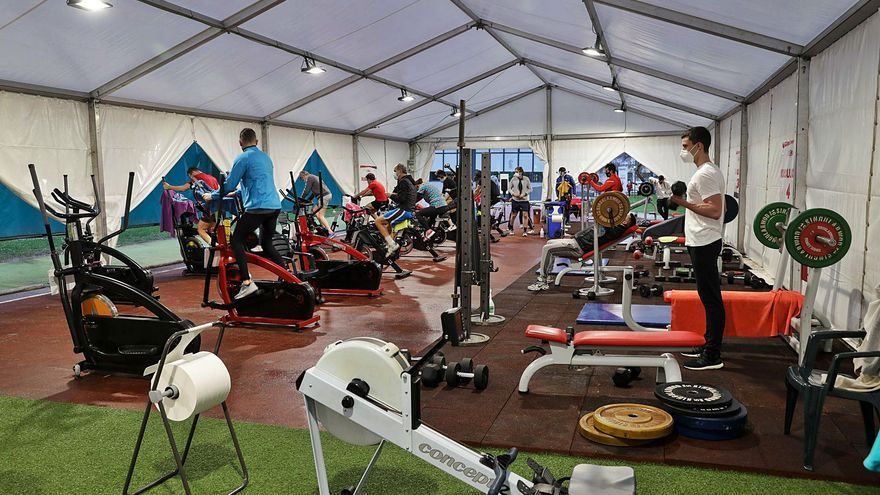El Grupo Covadonga estrena gimnasio al natural