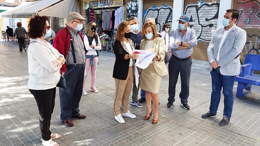 El PSOE solicita un plan integral de mejora de bulevares de la ciudad