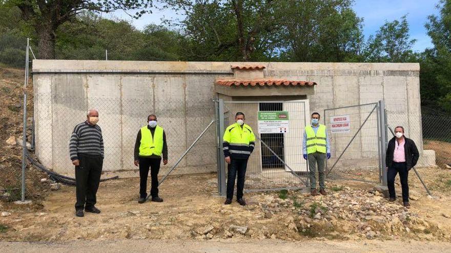 Palazuelo de las Cuevas ya cuenta con nuevo depósito abastecimiento