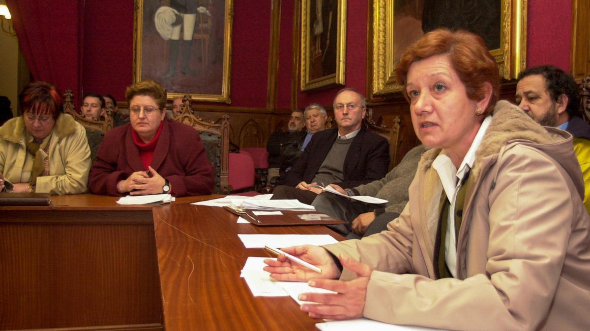 Ángela González fue concejala de Servicios Sociales en Vilagarcía.
