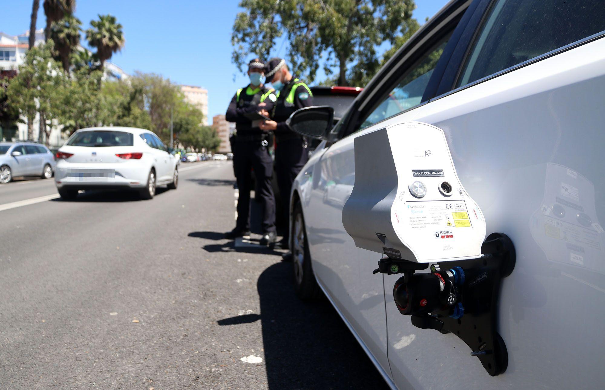 Imagen de las calles de Málaga tras entrar en vigor los nuevos límites de velocidad de 30km/h