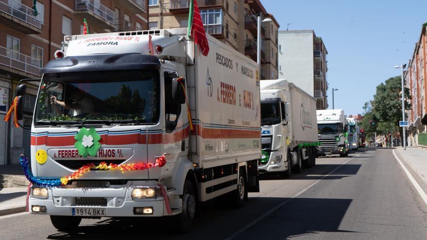 GALERÍA | Los camioneros de Zamora honran a su patrón San Cristóbal