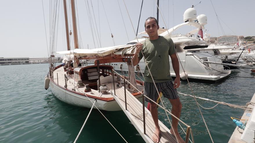 El Club de Mar de Palma se transforma en un museo flotante