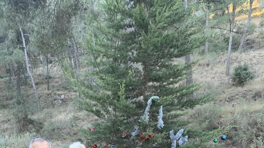 Un árbol de Navidad en El Relojero