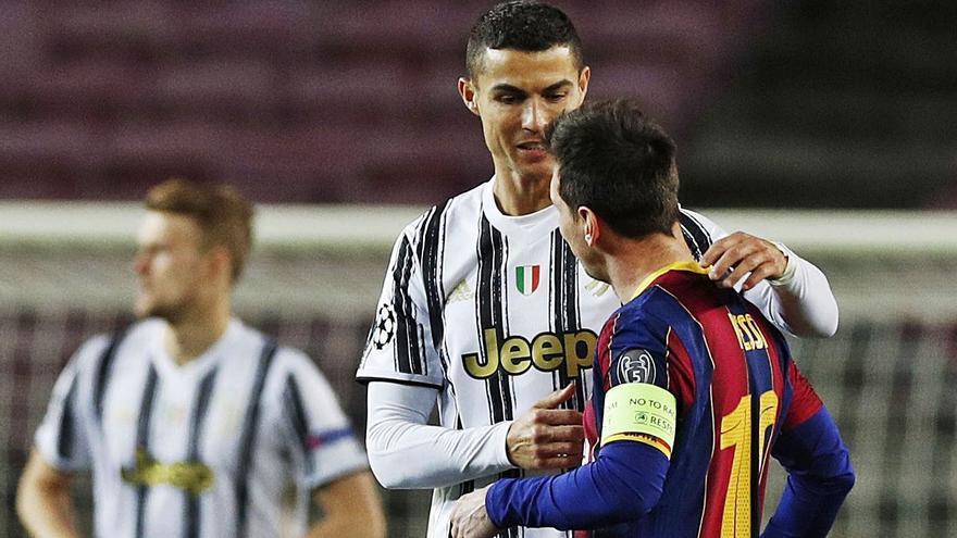Cristiano gana el duelo a Messi