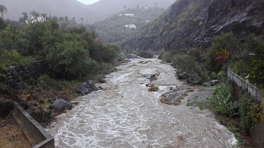La borrasca 'Filomena' continúa dejando lluvias y llenando presas este jueves en Gran Canaria