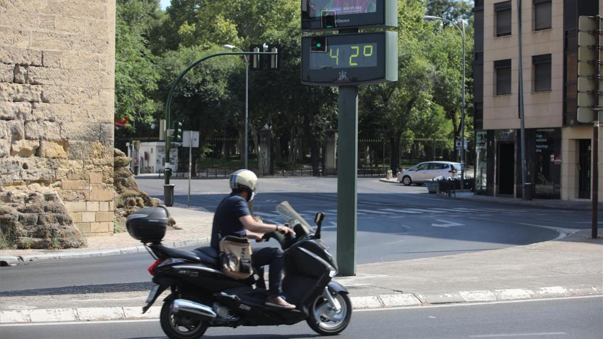 El tiempo en Córdoba: continúa el aviso naranja por el intenso calor