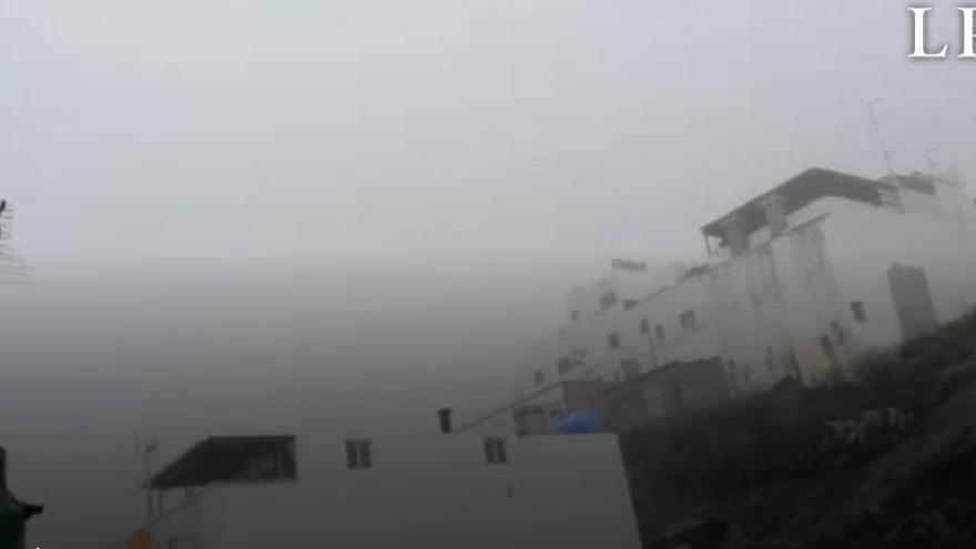 Las precipitaciones dejan un acumulado de 50 litros en las medianías del norte