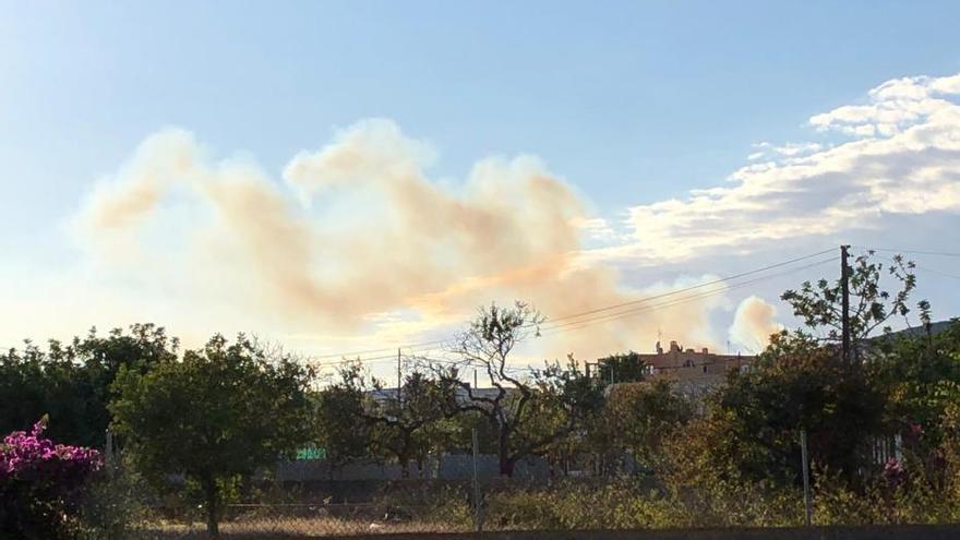 Incendio en Sant Josep