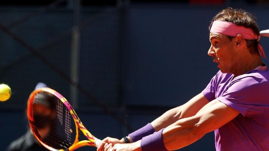 Nadal cae eliminado en Madrid a manos de Zverev