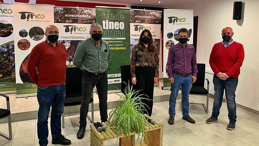 """La Feria de Tineo, """"un referente"""" para los 82 expositores virtuales"""