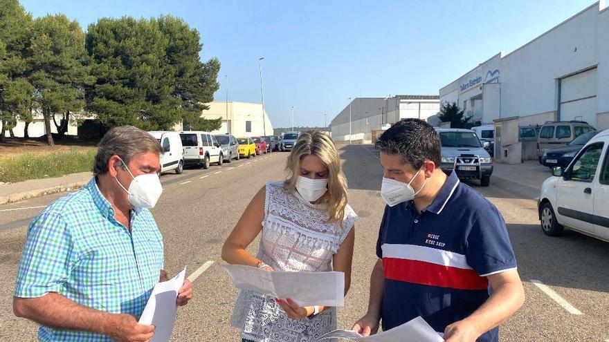Vall d'Alba proyecta convertir el polígono en parque industrial