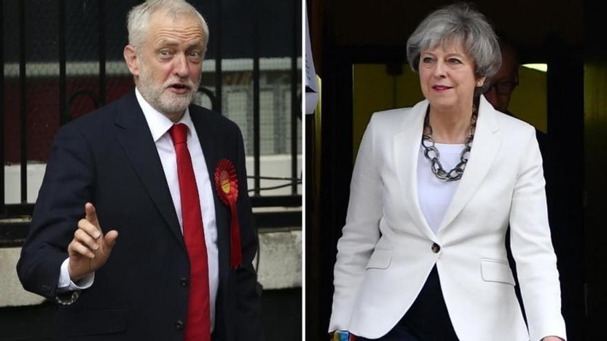 May pierde la mayoría absoluta y queda debilitada de cara a la negociación del 'brexit'