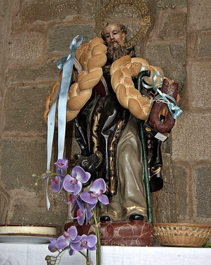 San Antonio con dos roscas.   Ch. S.