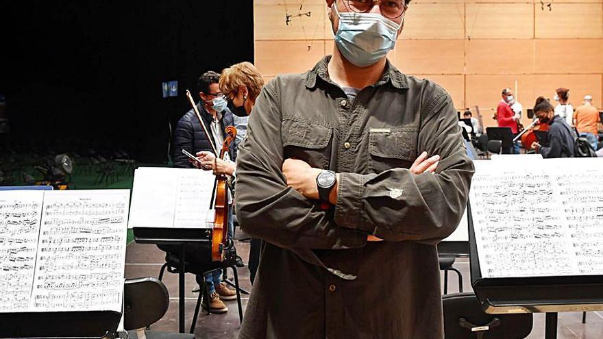 """""""Será como si la orquesta fuese un organismo vivo que respira al unísono"""""""