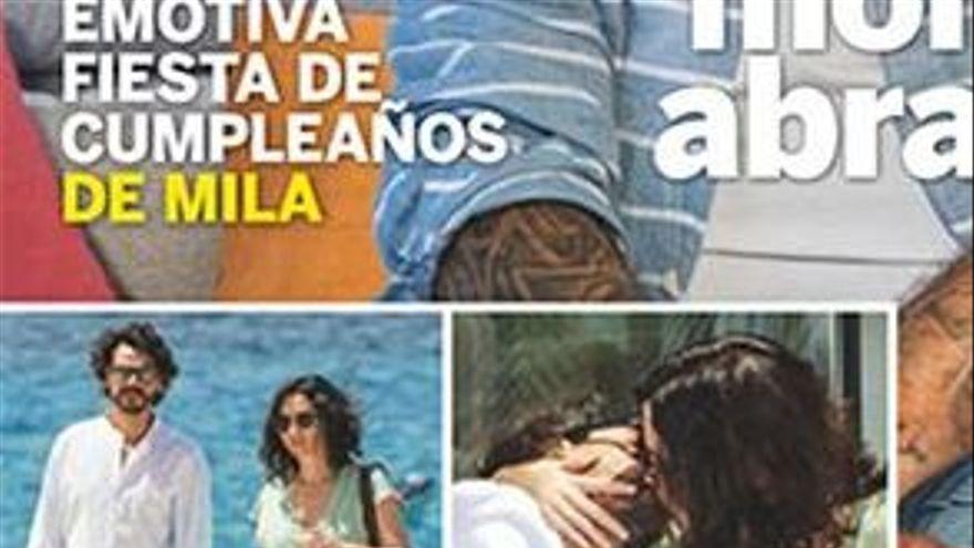 Les xarxes critiquen Ayuso per passejar per Eivissa sense mascareta