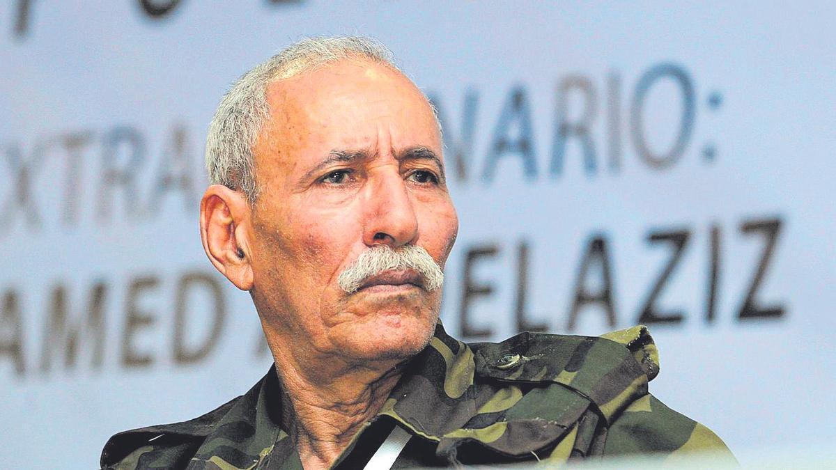 Brahim Ghali, líder del Frente Polisario.