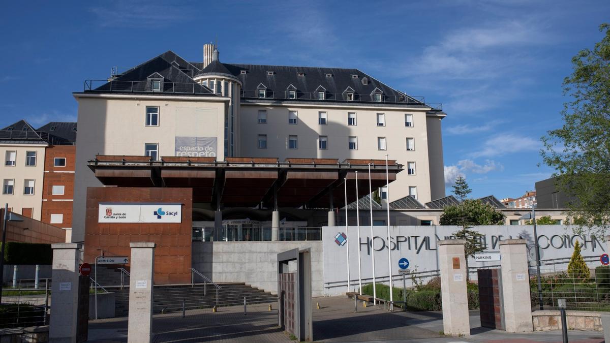 Sigue la última hora del coronavirus en Zamora. En la imagen, el Hospital Virgen de la Concha.