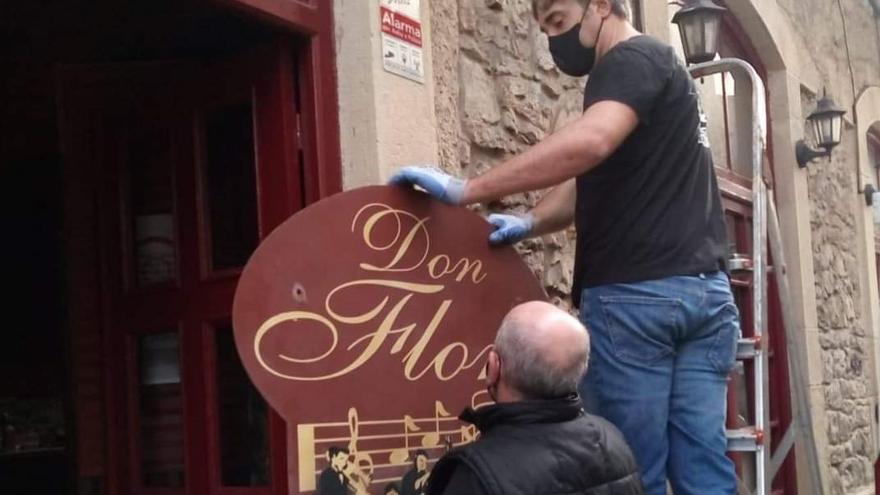 """El Don Floro descuelga el cartel: """"Ha sido muy duro"""""""