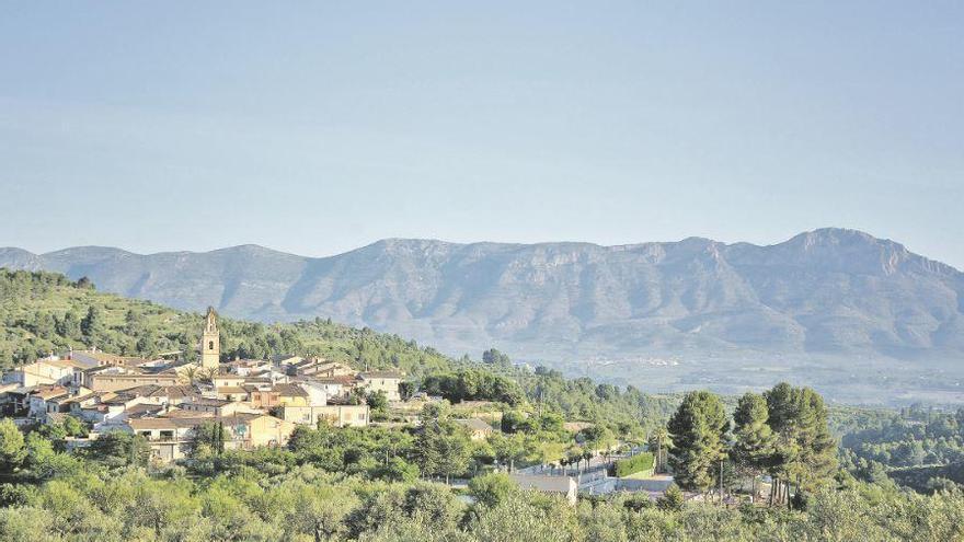 Benillup: Mirador de la Vall de Travadell