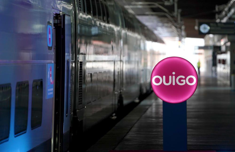 MADRID. 22.09.2020. ECONOMÍA.Tren de la empresa ferroviaria de alta velocidad, de bajo coste, de la SNCF, que operará en España. FOTO: JOSÉ LUIS ROCA