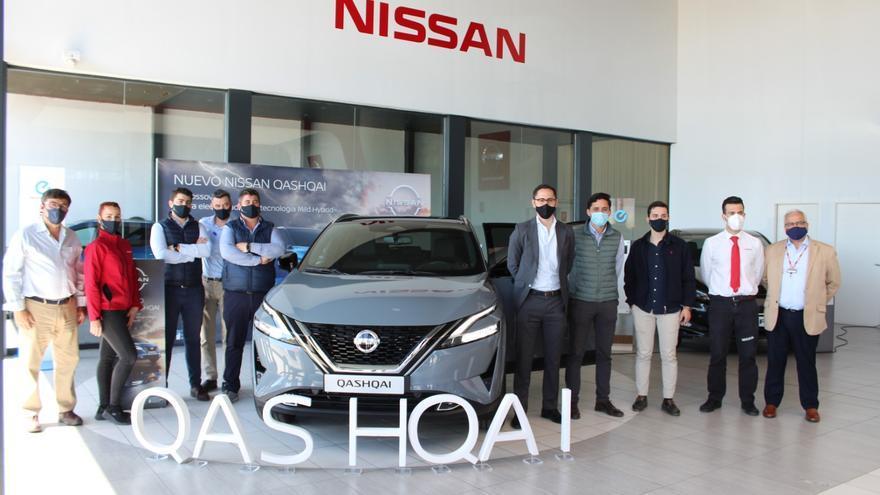 Nissan Catac presenta su nuevo modelo de Qashqai en Córdoba