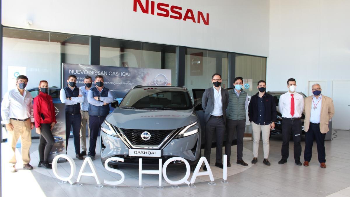Presentación del nuevo modelo de Nissan.