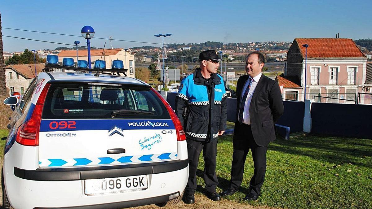 Presentación de una patrulla de la Policía Local de Culleredo.     // LA OPINIÓN