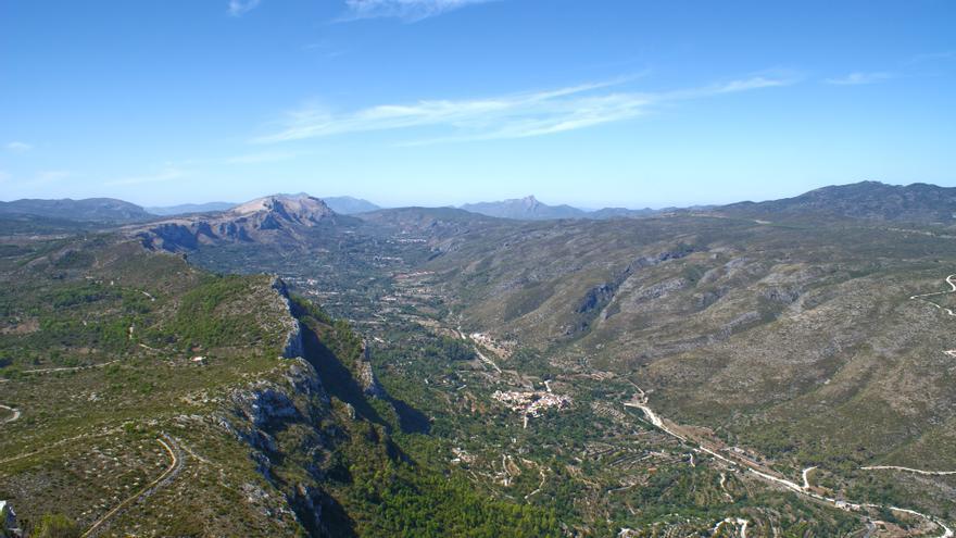Un paisaje morisco a los pies de la Penya Foradà