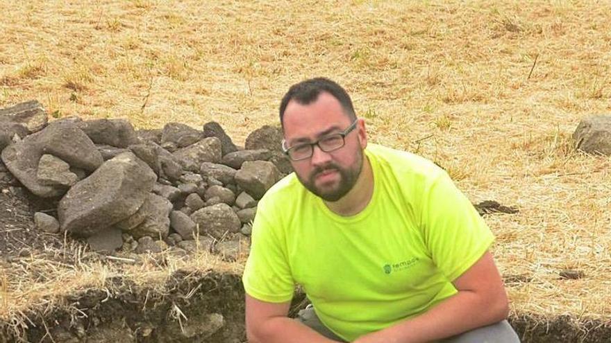 """""""San Sadurniño es la excavación con la que me quería encontrar"""""""