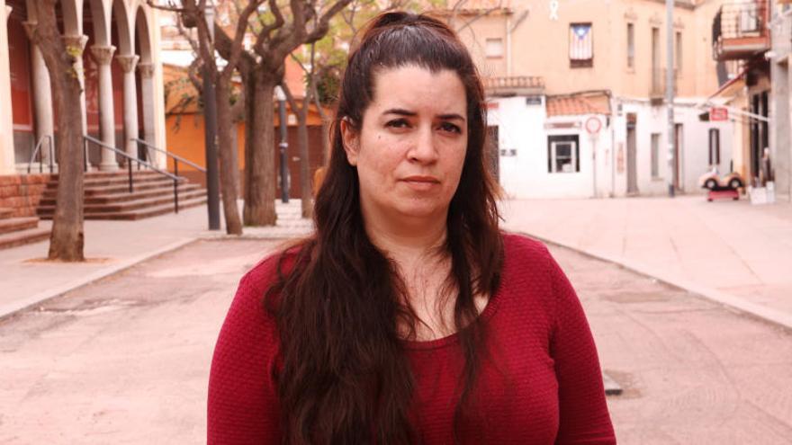 Tamara Carrasco veu Viladecans com «una presó sense barrots» un any després de la seva detenció