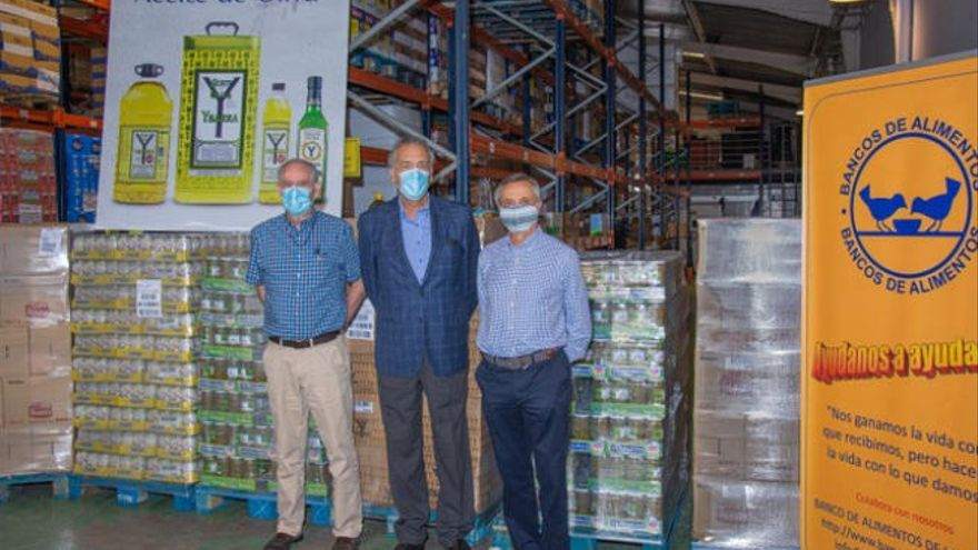 Donación de Ybarra al Banco de Alimentos
