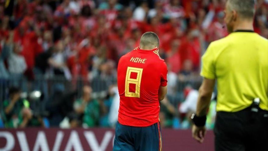 Imágenes del España-Rusia