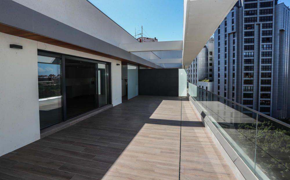 Ático en el Edificio Palau, de València comercializado por Olivares Consultores