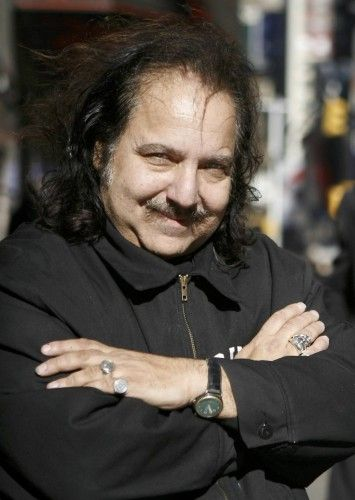 Adult film star Ron Jeremy poses for photos in New York