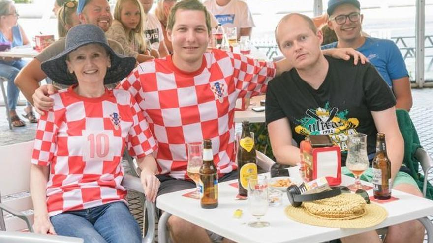 Orgullo croata y sentimiento de ganador