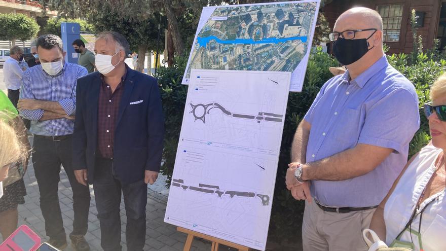Las obras de rehabilitación de la avenida Mariners de La Vila estarán terminadas a final de año