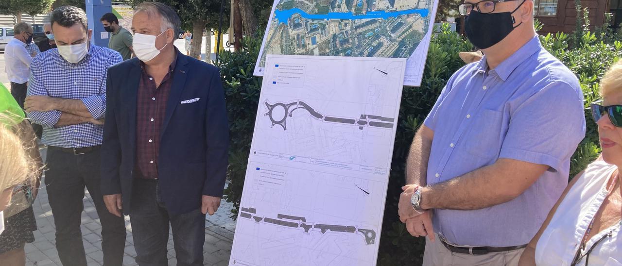 Inicio de las obras de la avenida Mariners de La Vila Joiosa.