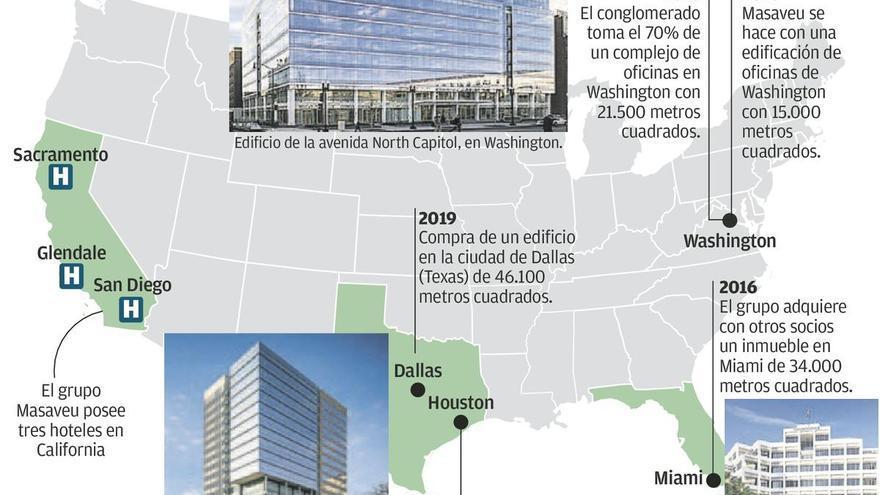 Masaveu se refuerza en EE UU con la compra de un quinto edificio por 216 millones