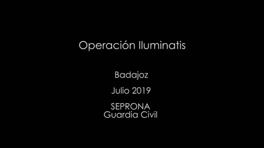 Operación de la Guardia Civil contra un zoo clandestino en Villafranca de los Barros