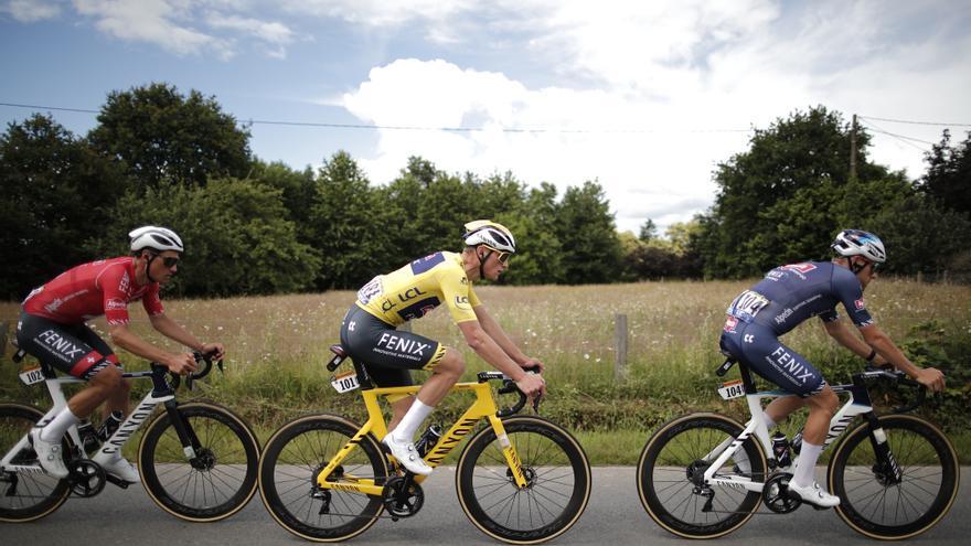 Así está la clasificación general del Tour de Francia tras la etapa 4
