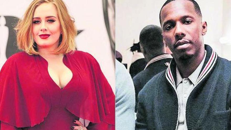 Adele sale con el agente de la NBA Rich Paul