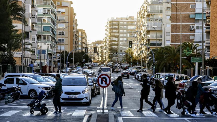 Las obras de Padre Esplá para crear más espacios peatonales y un carril bici durarán ocho meses